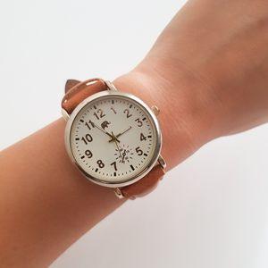 Francesca's Collection Elephant Medium Brown Watch